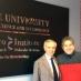 Paolo Scudieri in visita allo Sbarro Institute