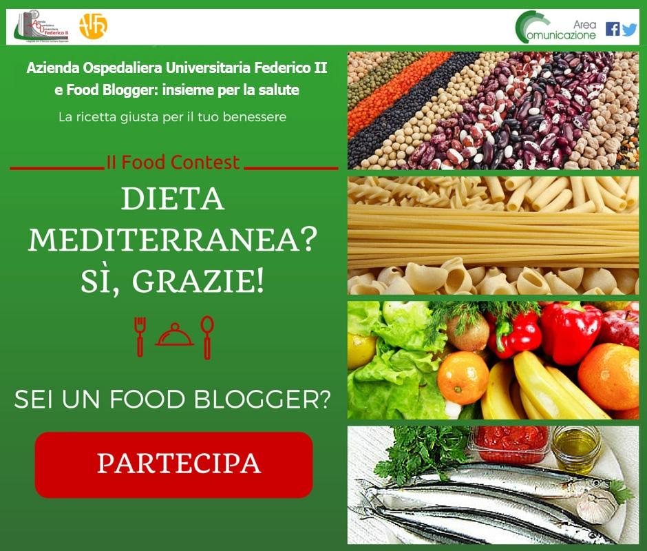 FOOD CONTEST DIETA MEDITERRANEA IMMAGINE